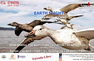 Ciclo documentales EARTH FLIGHT